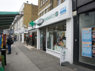 202 Portobello Road London acquisition for Bleinham Pharmacy and rent review