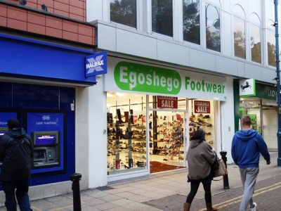 Acquisition for Ego Shego Footwear Powis Street, Woolwich