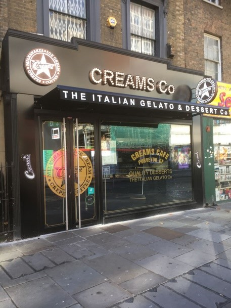 Creams Hammersmith 83 King Street opening