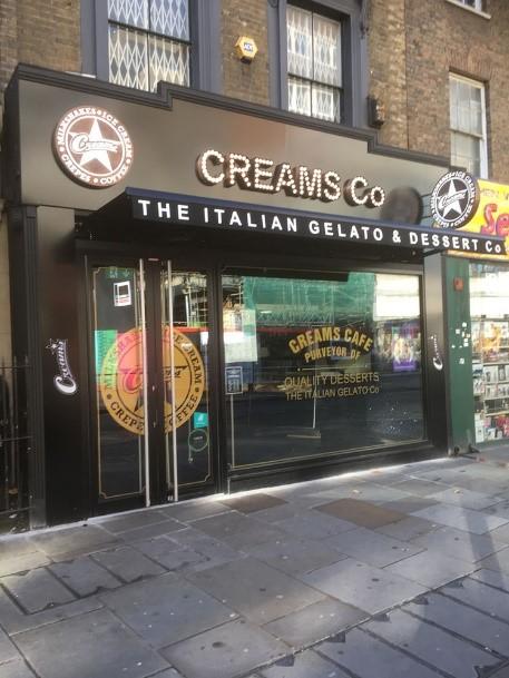 Creams Hammersmith 83 King Street opening