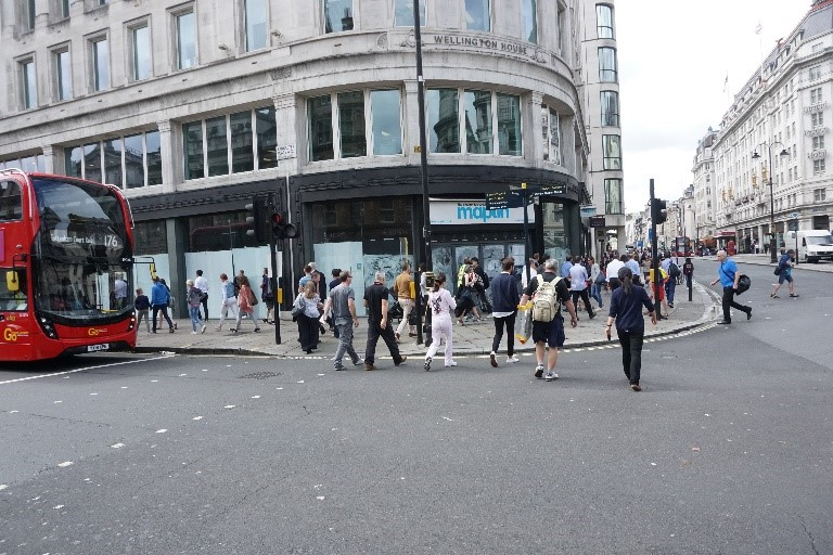 Maplin closed in the Strand London, but now let to Pret a Manger